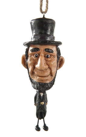 Abe Lincoln Ornament
